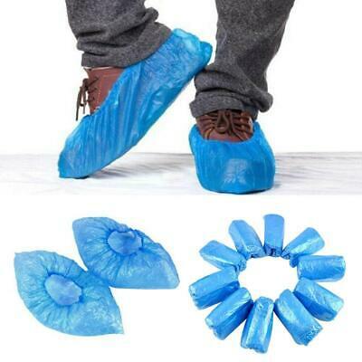 100Pcs-Jetable-Plastique-Chaussures-Housses-Tapis-Nettoyage-Couvre